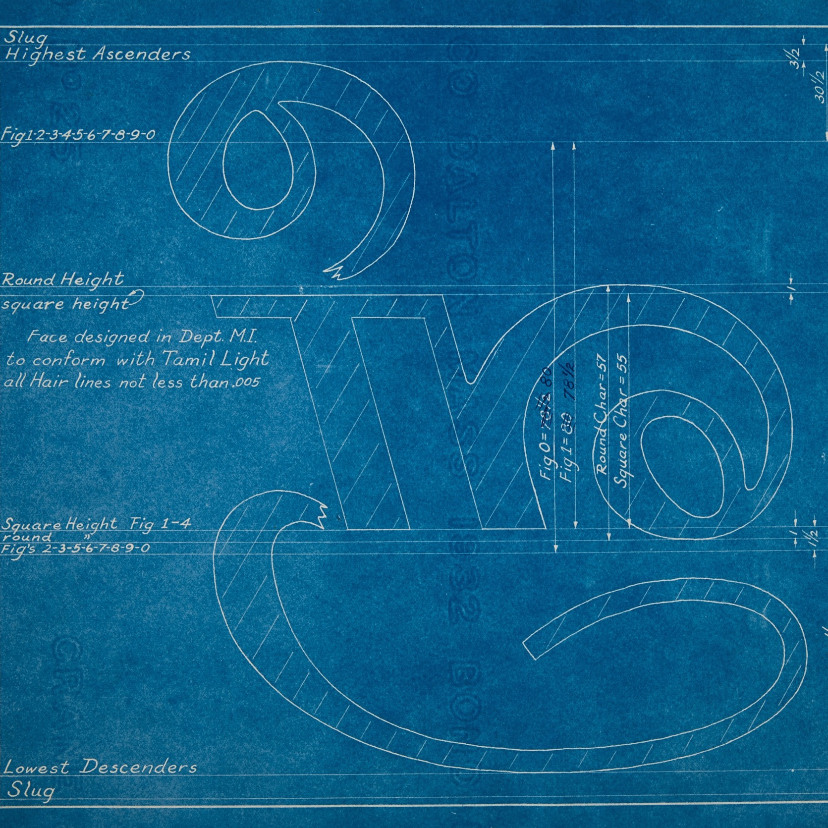 Engineering template for Tamil characters