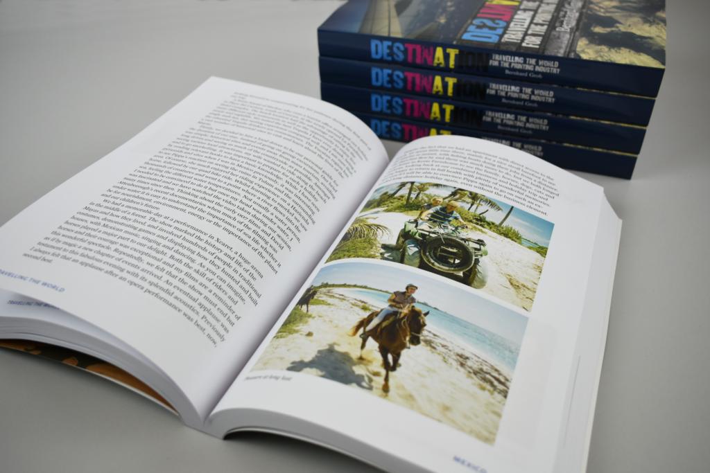 Destination book design